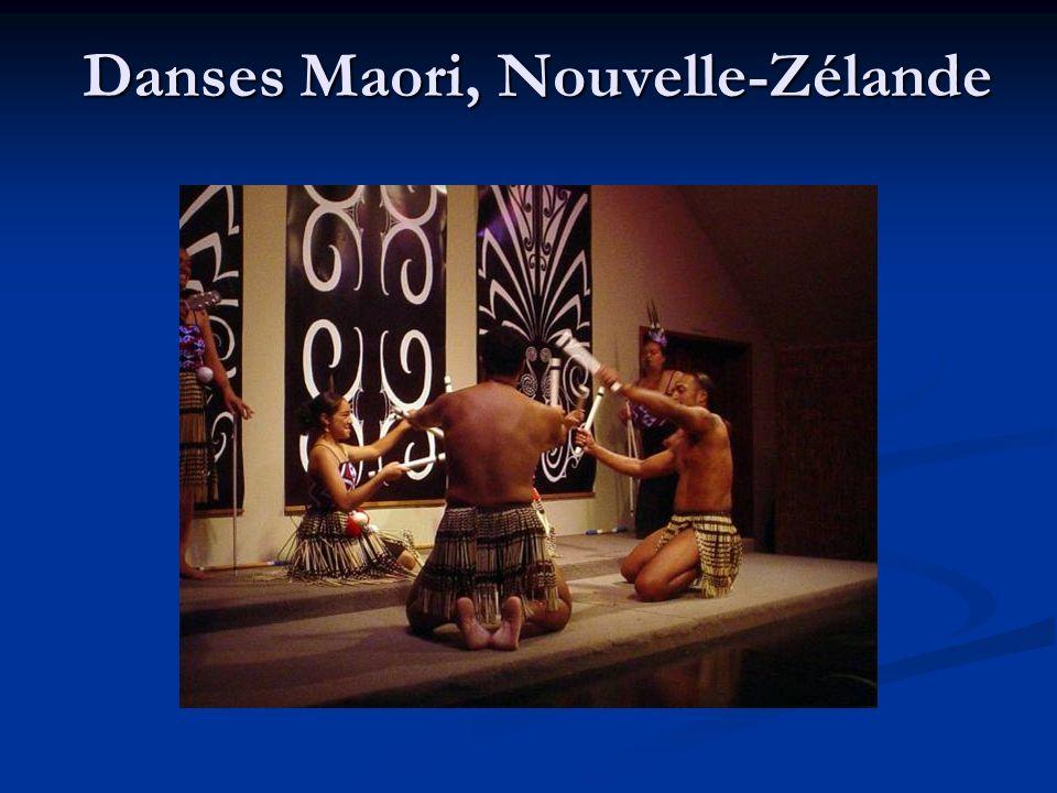 Danses Maori, Nouvelle-Zélande