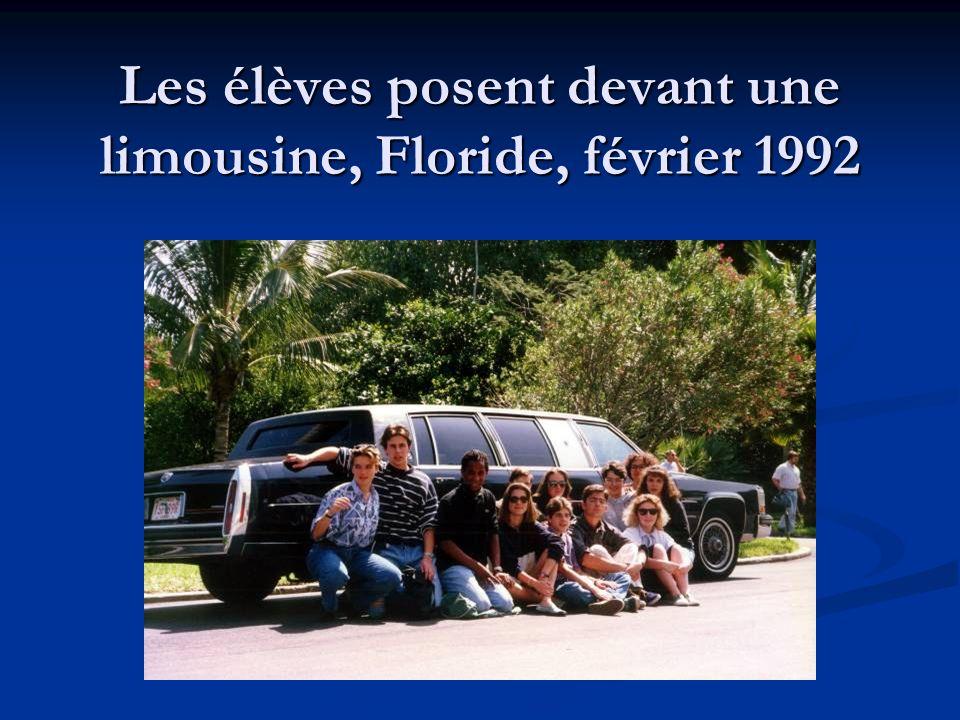 Maryse et Farida visitent les Keys, Floride, février 1992