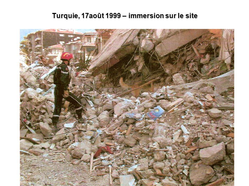 7 Turquie, 17août 1999 – immersion sur le site