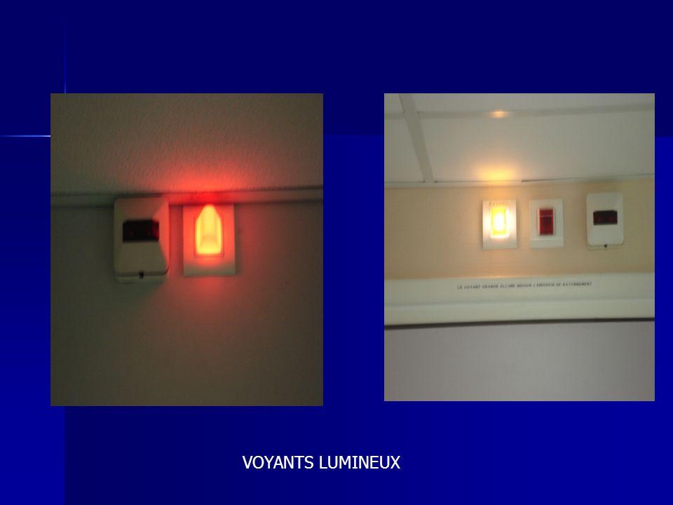 VOYANTS LUMINEUX