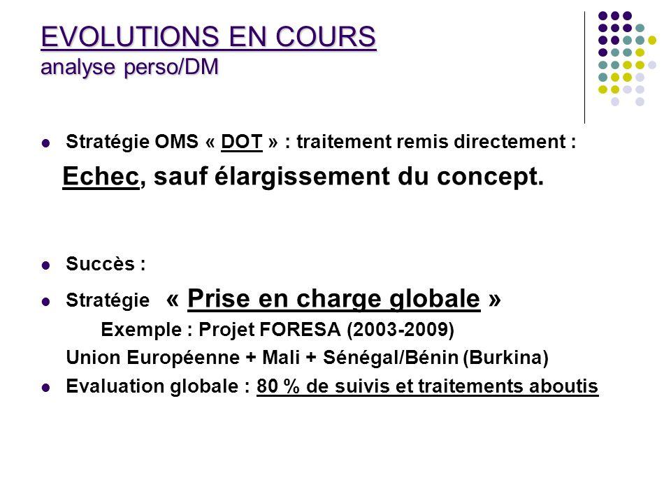 PRISE EN CHARGE GLOBALE (Projet FORESA) « analyse DM » Approche centrée sur le patient et sa famille.