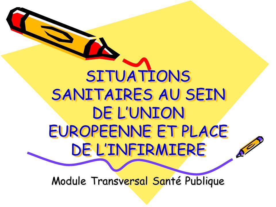 FINE European Federation Nurses of Educators Regroupe les formateurs en soins infirmiers de lUE Missions : -Recommandations dans le domaine de la formation -Harmonisation des dispositifs de formation -Faciliter les échanges entre les formateurs