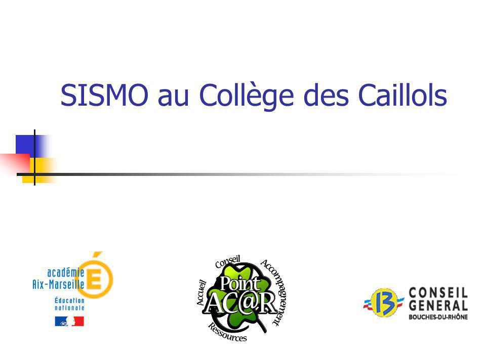 Les différents partenaires Conseil Général 13 (réseau Ordina13) Rectorat Aix-Marseille (DATSI) Société Agécodagis