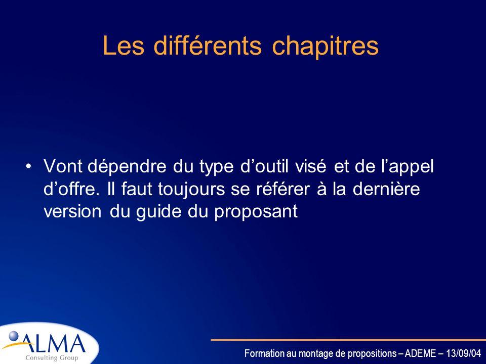 Formation au montage de propositions – ADEME – 13/09/04 Cas dun STREP B.1 Adéquation des objectifs avec la sous-priorité B.2 Impact potentiel B.3 Exce