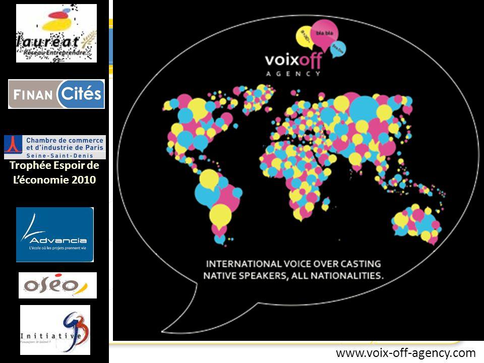 www.voix-off-agency.com Trophée Espoir de Léconomie 2010