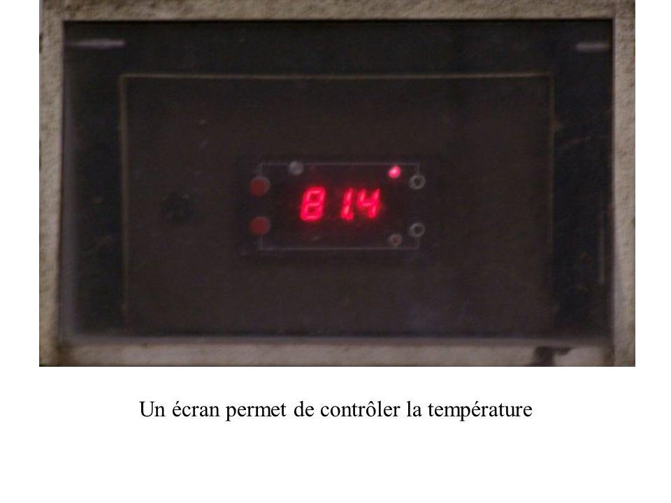 Le pasteurisateur le chauffera aux environs de 80 ° C