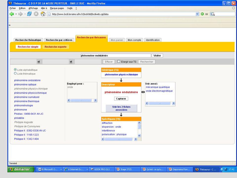 Etape 2 : chercher les documents Utiliser pleinement toutes les potentialités des outils de recherche - syntaxe : troncature, guillemets... - opérateu