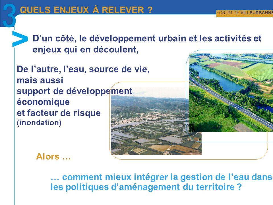 … comment mieux intégrer la gestion de leau dans les politiques daménagement du territoire .
