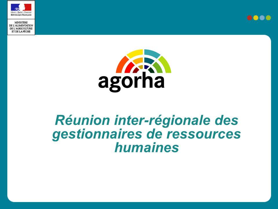 Réunion inter-régionale des gestionnaires de ressources humaines