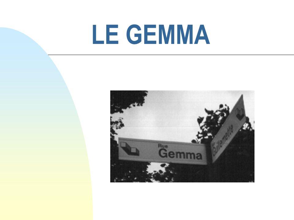 Exemple de GEMMA types n GEMMA minimal dune machine automatique
