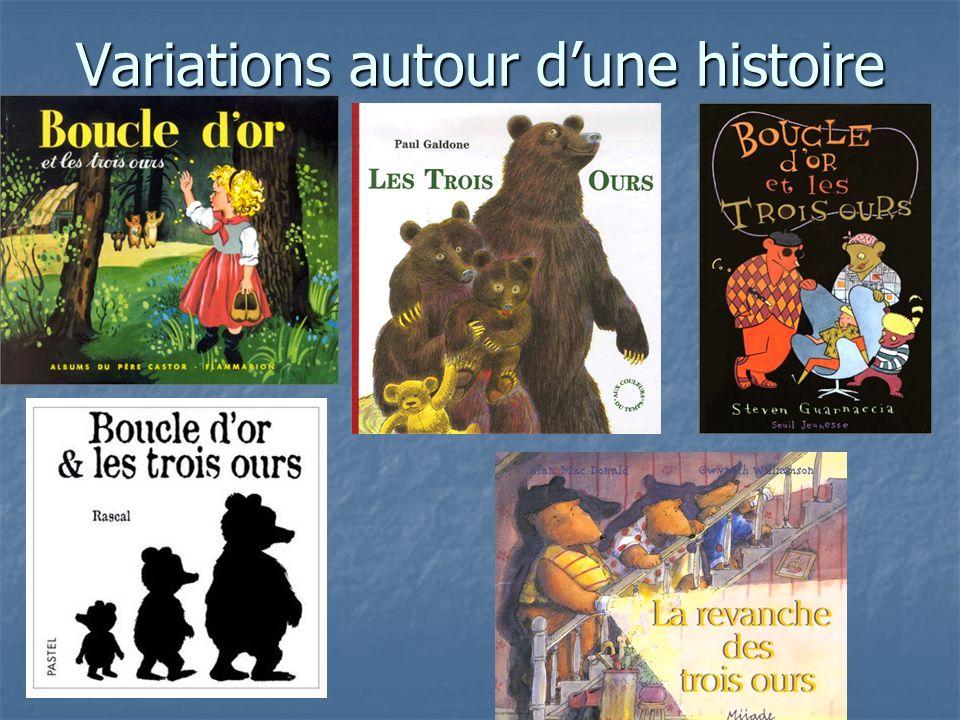 Variations autour dune histoire