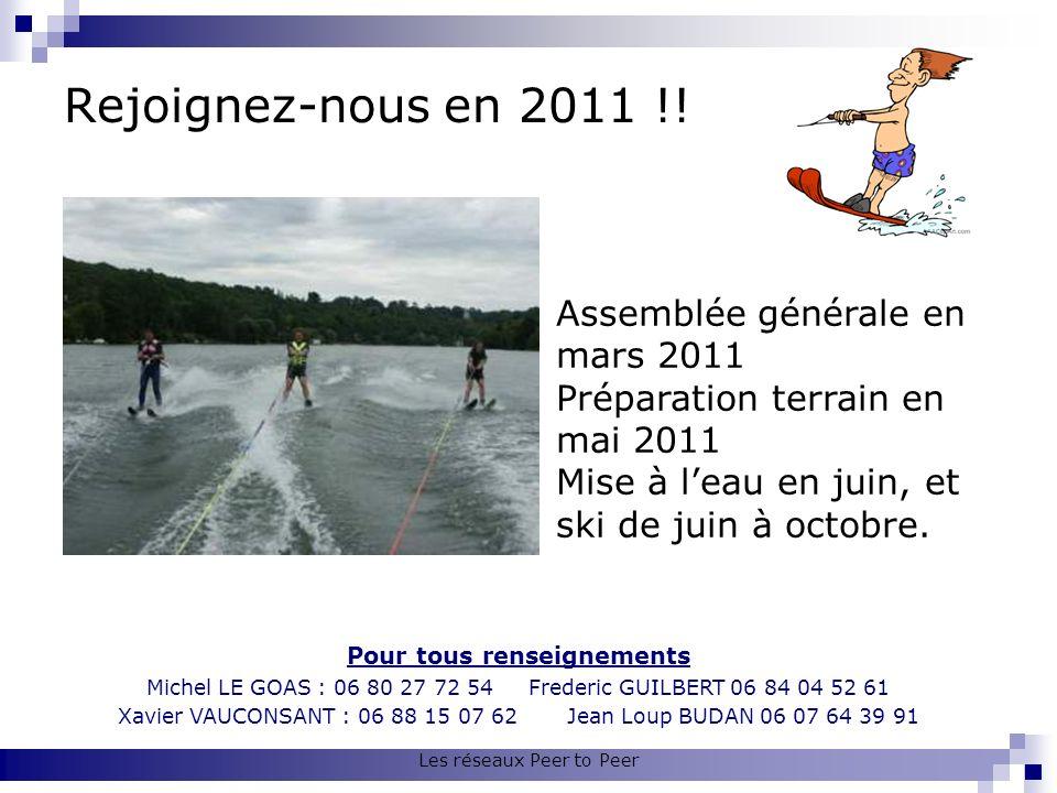 Rejoignez-nous en 2011 !! Pour tous renseignements Michel LE GOAS : 06 80 27 72 54 Frederic GUILBERT 06 84 04 52 61 Xavier VAUCONSANT : 06 88 15 07 62