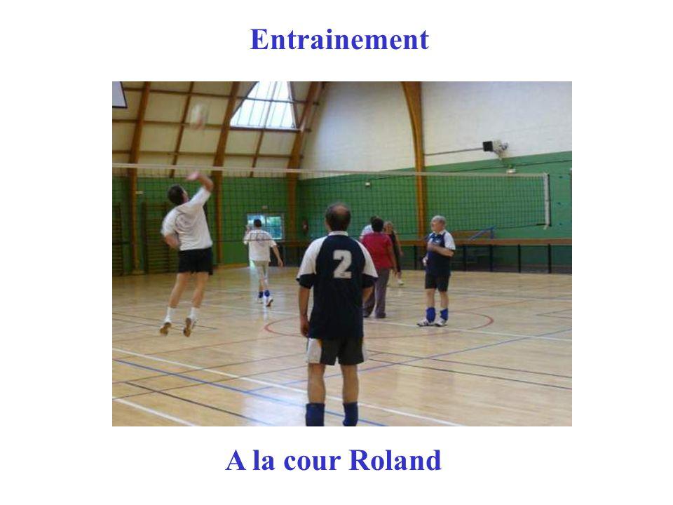 Entrainement A la cour Roland
