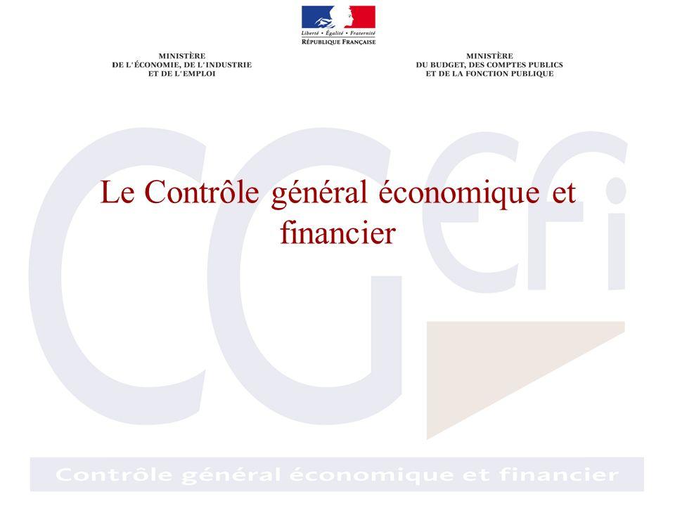 Le Contrôle général économique et financier