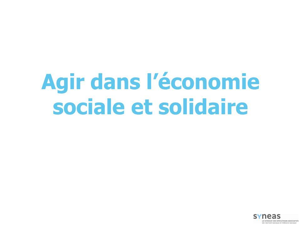 Agir dans léconomie sociale et solidaire