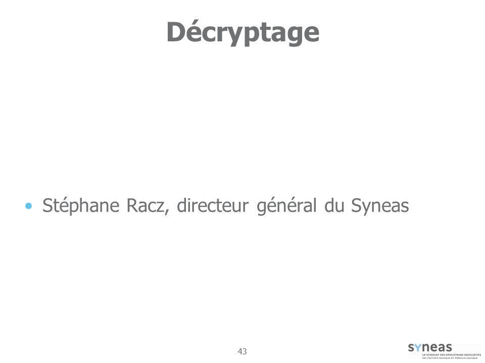 43 Décryptage Stéphane Racz, directeur général du Syneas