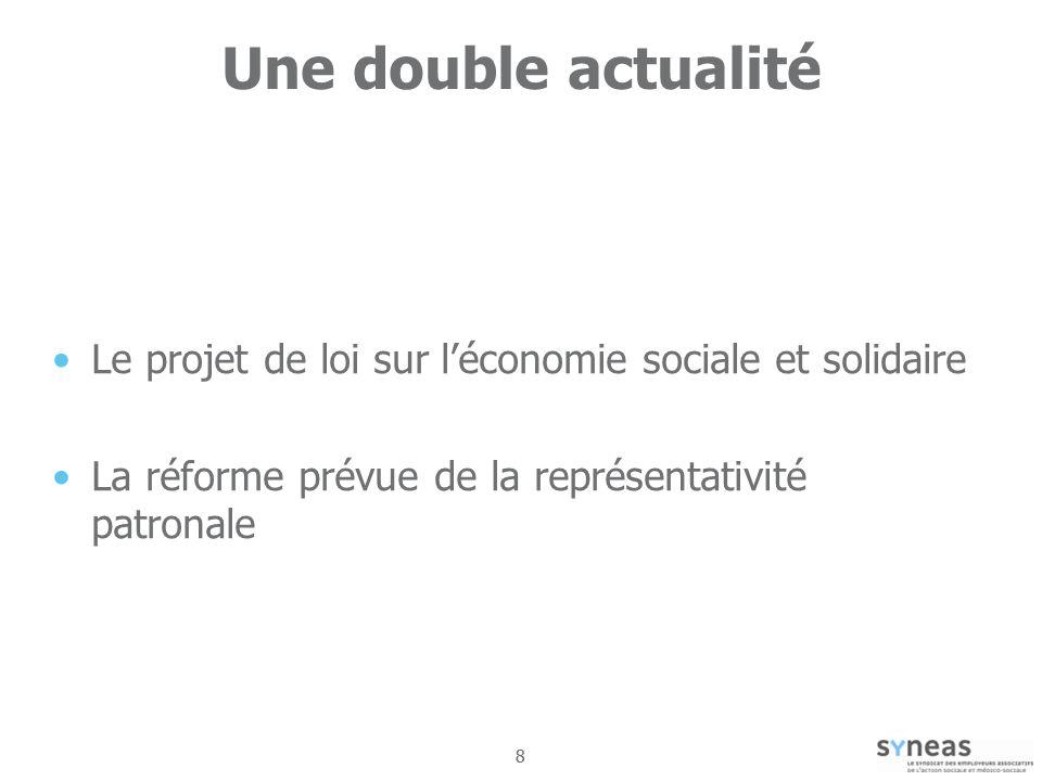 99 Une fenêtre dopportunité pour les employeurs de léconomie sociale et solidaire Pour exister Pour investir les politiques publiques Pour participer à la structuration de léconomie sociale et solidaire