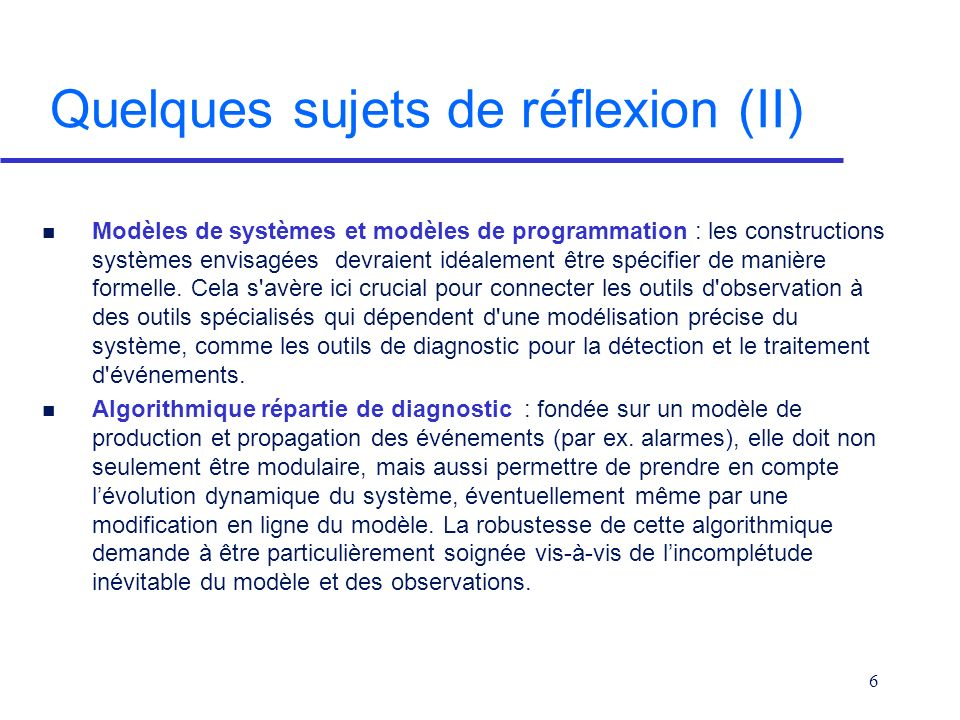 17 Fault model-based approach : correlation tree St OuenAubervilliers MontrougeGentilly TF LOS TF LOS MS-AIS disabled AU-AIS disabled AU-AIS disabled