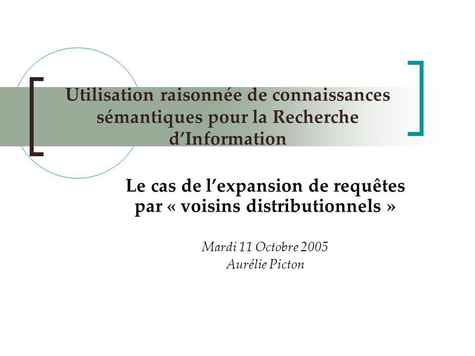 2 Plan Contexte de lexpérimentation Outils Démarche et Résultats Discussion Perspectives