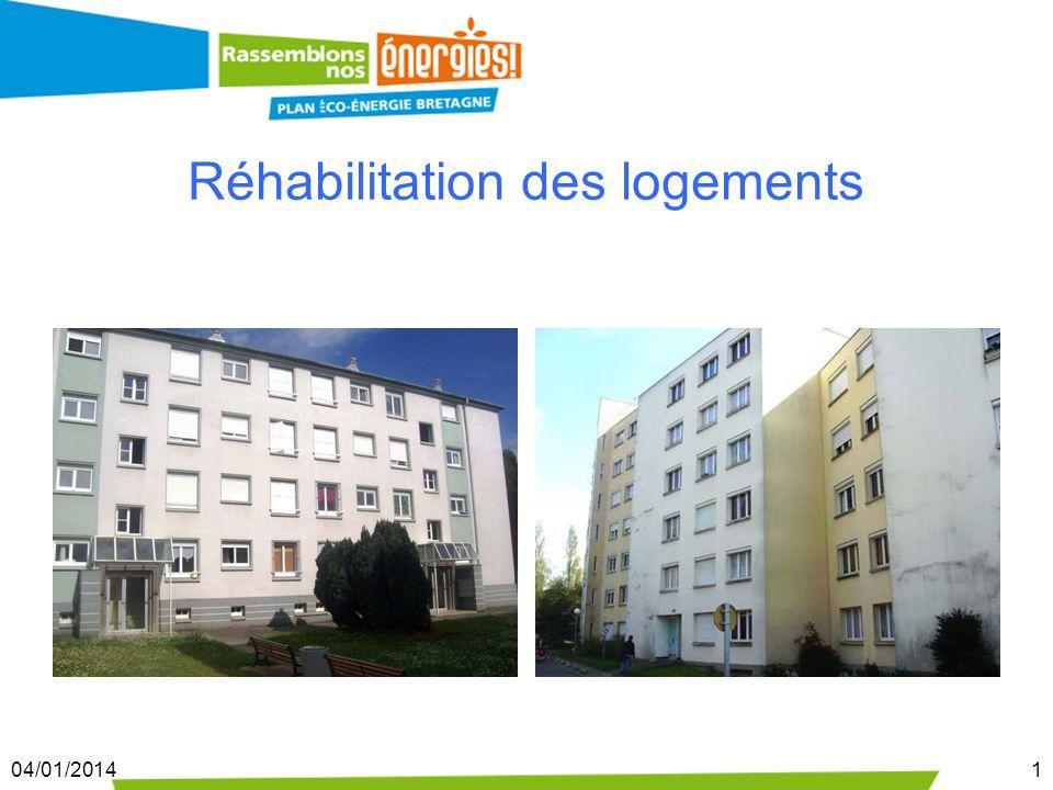 04/01/20141 Réhabilitation des logements