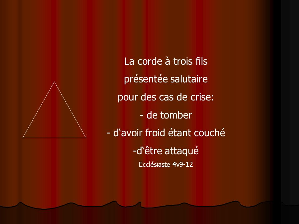 Notre Dieu, un Dieu de relation: Père Fils Saint Esprit Au commencement, DIeu/Eloim créa..
