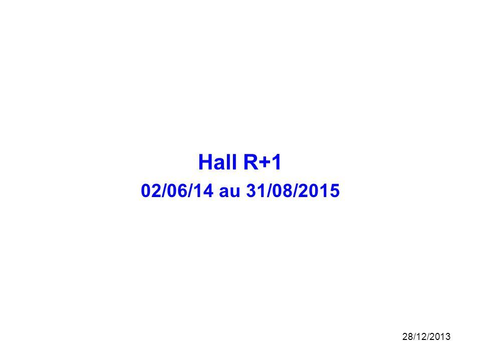 Hall R+1 02/06/14 au 31/08/2015