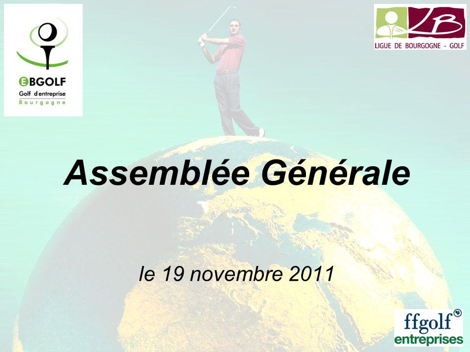 Assemblée Générale le 19 novembre 2011