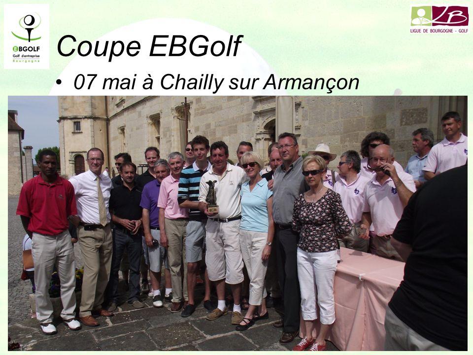 Coupe EBGolf 07 mai à Chailly sur Armançon –SNCF PhilippePiana AlexandrePiana –40 équipes participantes