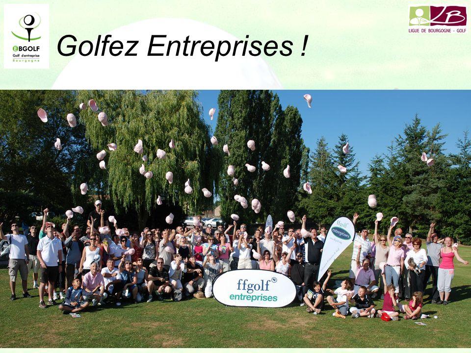 Golfez Entreprises ! 90 participants le 2 juillet à Pré Lamy 66 débutants