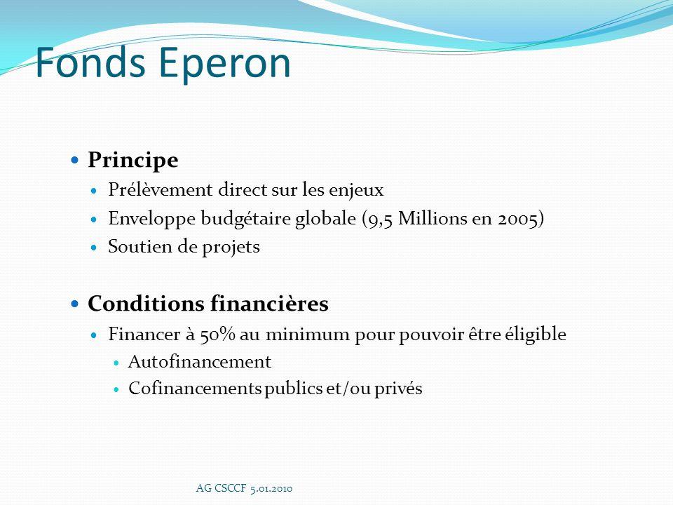 Statuts Report à une date ultérieure AG CSCCF 5.01.2010