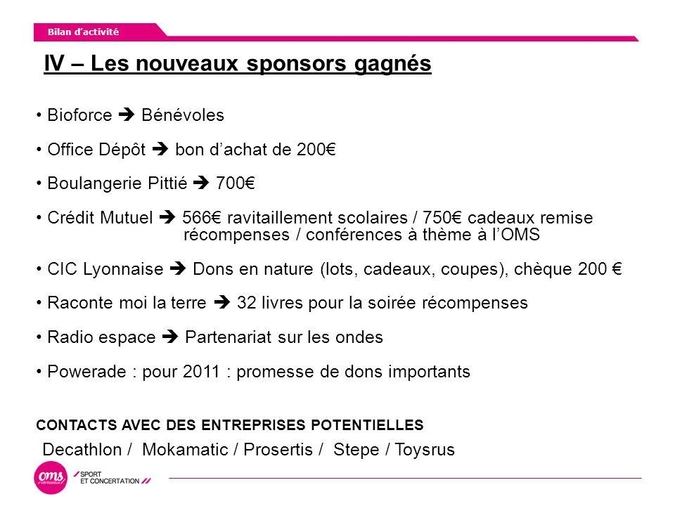 2010 : développement de la pratique sportive féminine Politique Sportive AG du 30 mars 2011 2011 : sport et handicap Nhésitez pas à nous rejoindre pour travailler avec nous
