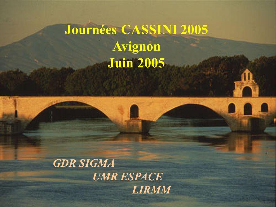 RTP 37 et AS AS143 : Géomatique temps-réel (Tullio Tanzi) AS144 : Conception collaborative d'objets géographiques (Sylvie Lardon et Florence Le Ber) A