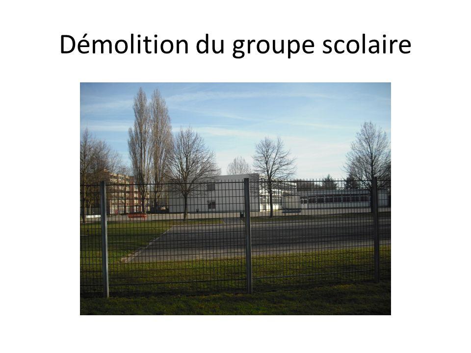 Démolition du centre social