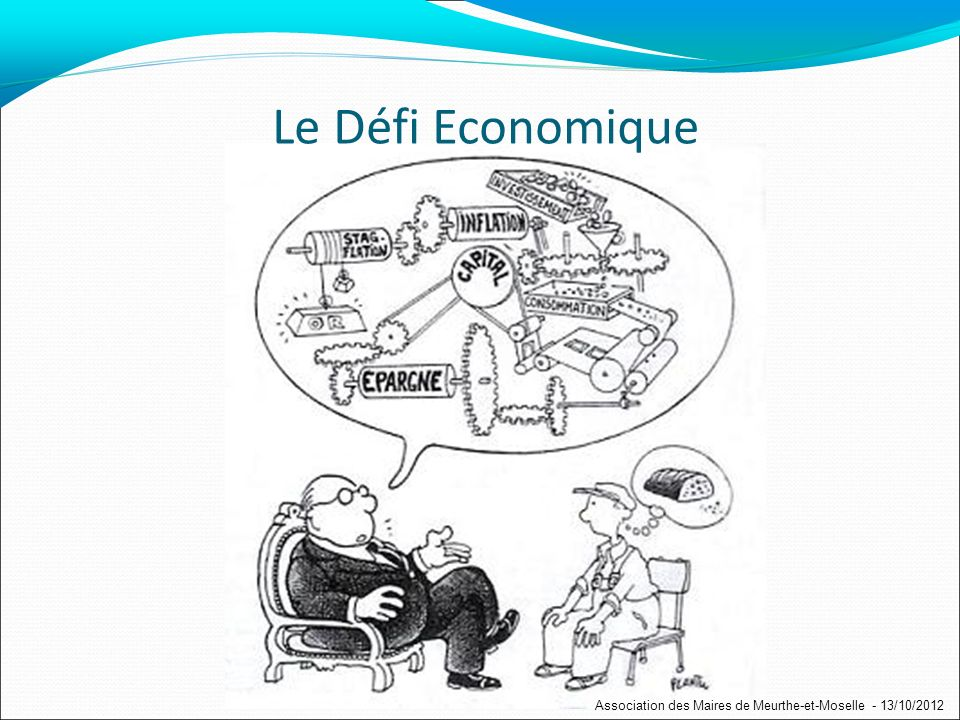 Quel avenir en croissance faible ? Association des Maires de Meurthe-et-Moselle - 13/10/2012