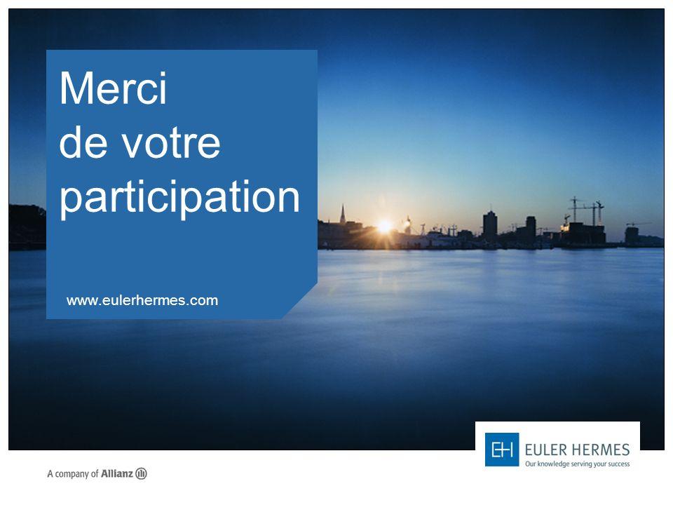 Merci de votre participation www.eulerhermes.com
