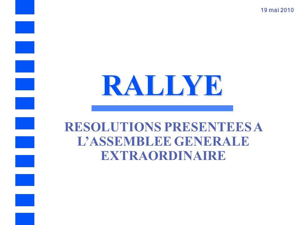 RALLYE – Assemblée Générale 2010 - 56 Vingtième résolution - Fixation du montant global des jetons de présence des administrateurs et de la rémunérati