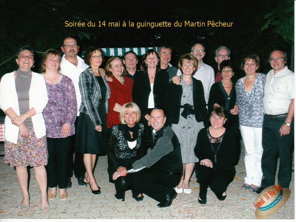 Soirée du 14 mai à la guinguette du Martin Pêcheur