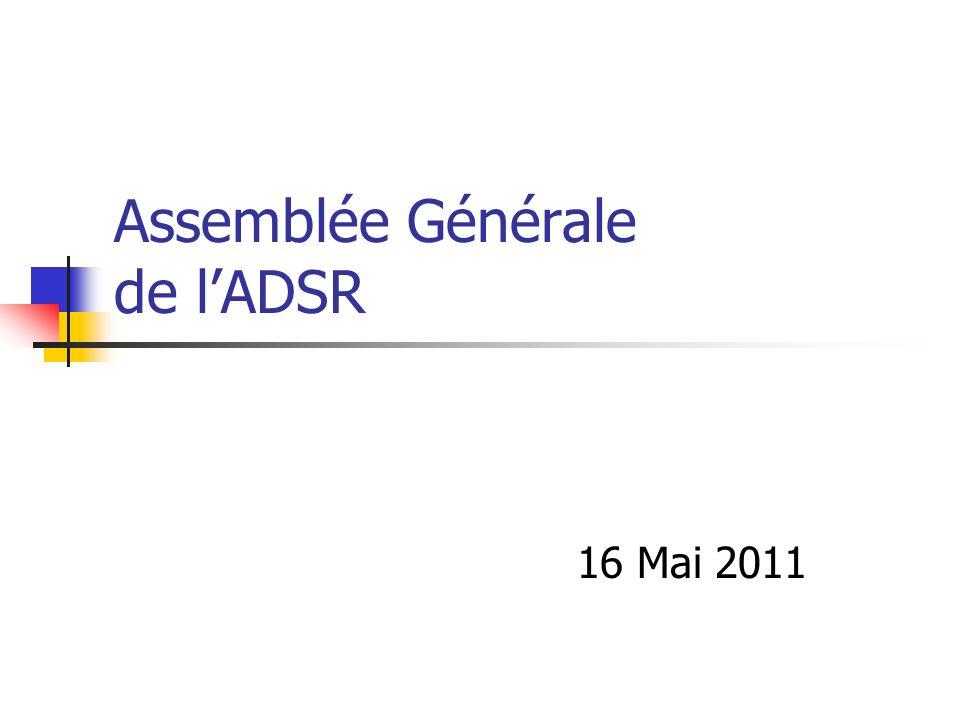 Assemblée Générale de lADSR 16 Mai 2011
