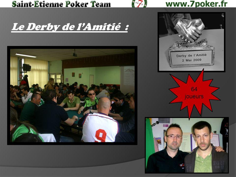Le Derby de lAmitié : 64 joueurs