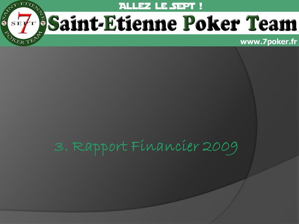 3. Rapport Financier 2009