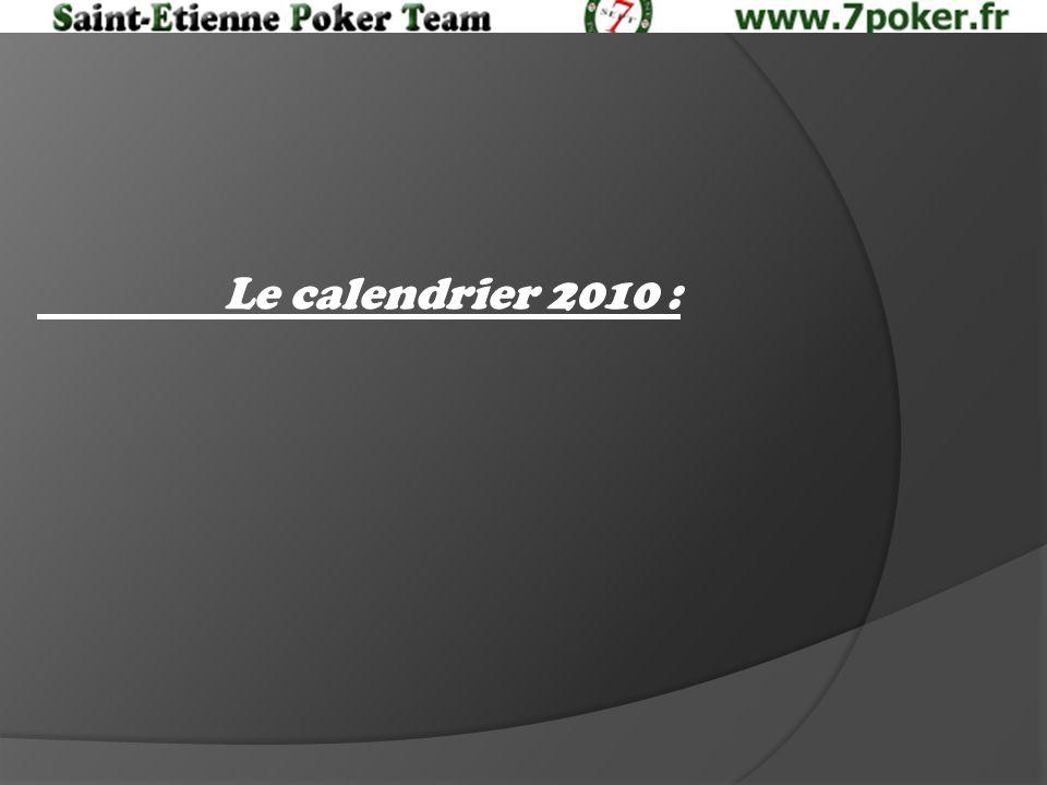 Le calendrier 2010 :