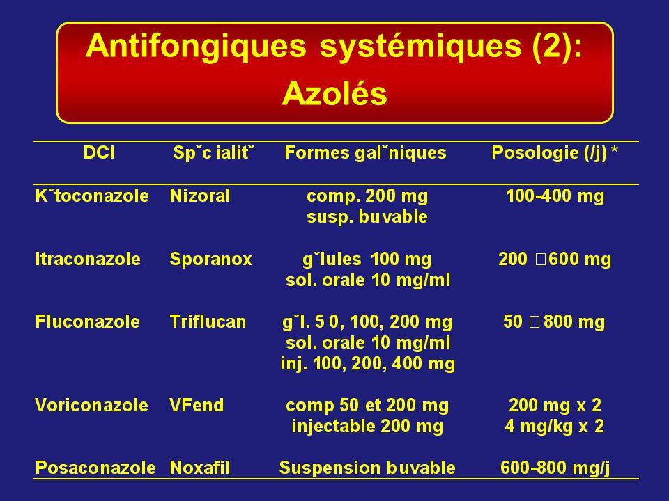 Antifongiques systémiques (2): Azolés