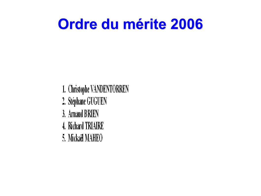 Ordre du mérite 2006