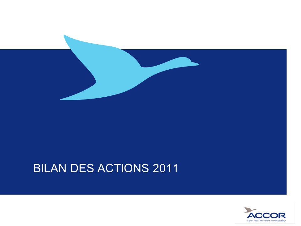 BILAN DES ACTIONS 2011