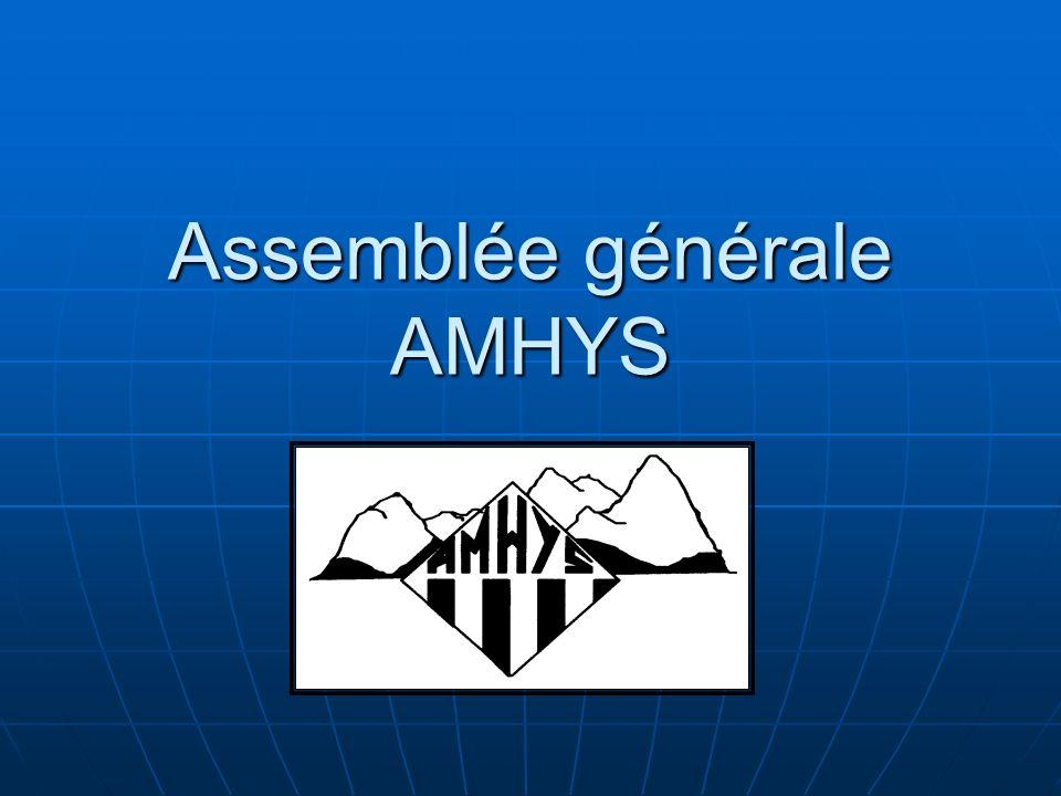 Assemblée générale AMHYS