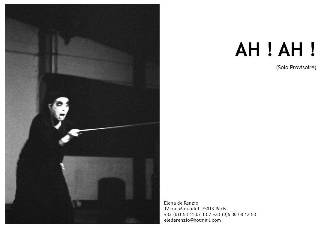 Projet soutenu par Junge Hunde 2003, bourse pour laide à la jeune création européenne.