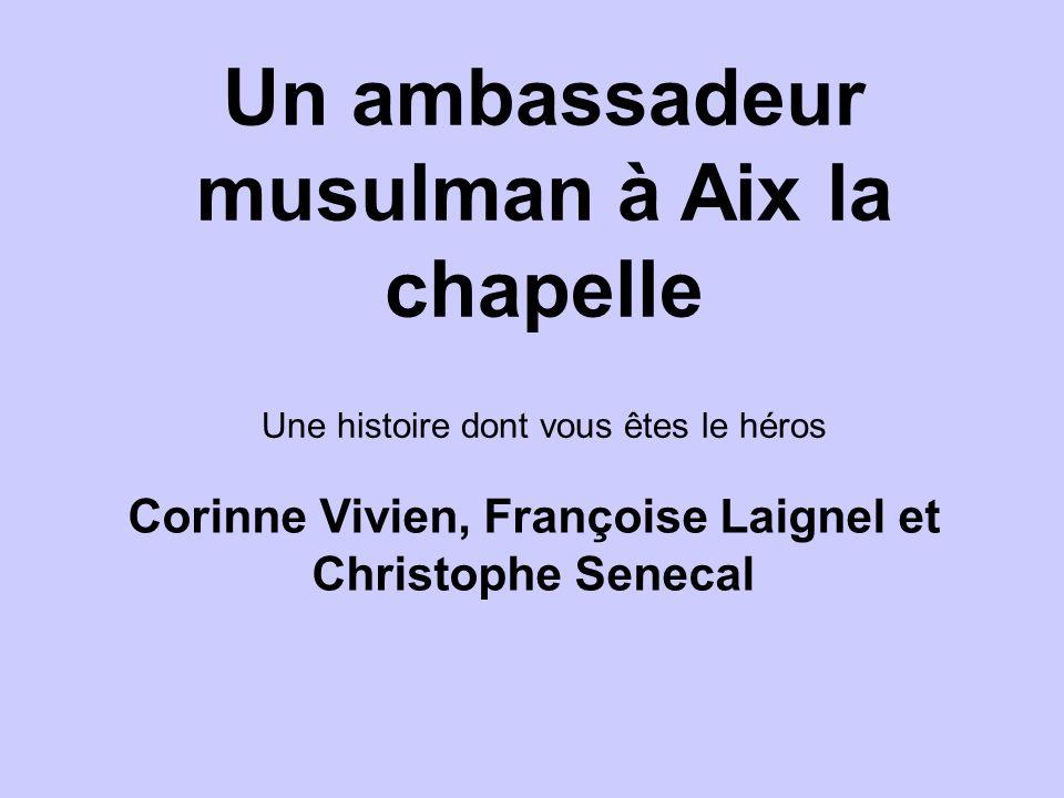 Satisfaite, limpératrice vous charge doffrir un présent au nouvel empereur Charlemagne : une magnifique icône.