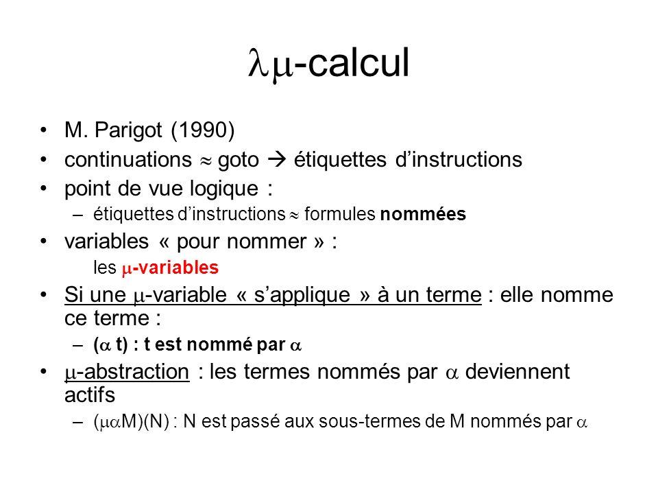 -calcul M.