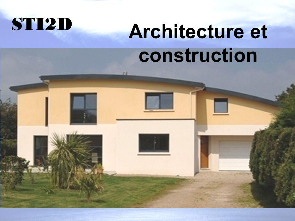 Architecture et construction STI2D