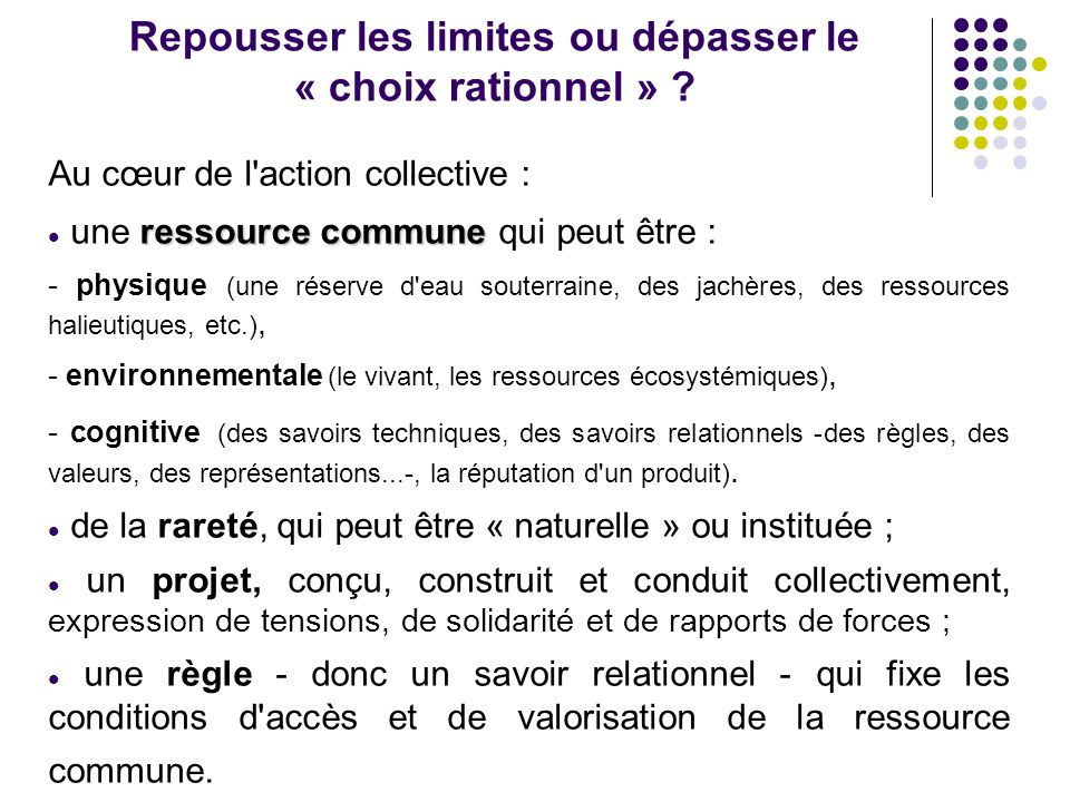 Action collective et territoire -mécanismes de construction des territoires et comment lAC y contribue -comment lAC est marquée par les mécanismes de construction des territoires opportunité enjeux problèmes action